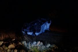 Una joven de 19 años, en estado crítico tras un accidente de tráfico en Binissalem