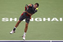 Djokovic acaba con García-López  en cuartos y la 'Armada' se queda sin representantes
