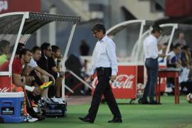 Vázquez, «decepcionado» con el empate ante el UCAM Murcia