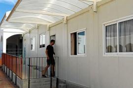 Los colegios de las Pitiusas cuentan con 22 barracones para poder escolarizar a los alumnos