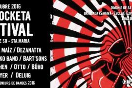 XVI edición del festival Sa Rocketa en la Factoria de So