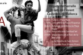 XVIII diada de los Castellers de Mallorca en Palma