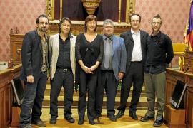 PALMA PREMIOS LITERATURA Y TEATRO CONSELL DE MALLORCA FOTOS TERESA A