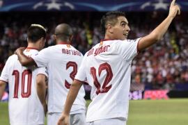 Ben Yedder da la victoria al Sevilla frente al Olympique