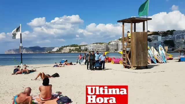 Aparece el cadáver de una mujer en aguas de Santa Ponça