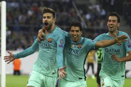 El Barça reacciona a tiempo y remonta ante el Borussia Mönchengladbach (1-2)