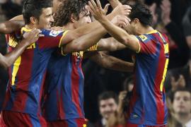 El Barcelona doblega al Valencia en un inmenso partido