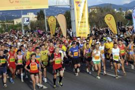 Miquel Capó gana el Maratón palmesano, que batió el récord de participantes