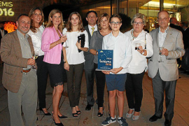 Entrega de premios en la Nit del Turisme