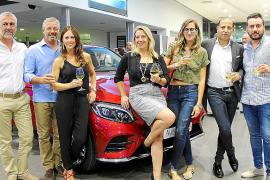 Auto Vidal presenta su nuevo Mercedes GLC Coupé con una gran fiesta