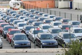 El aeropuerto de Son Sant Joan, a la cabeza en número de coches alquilados