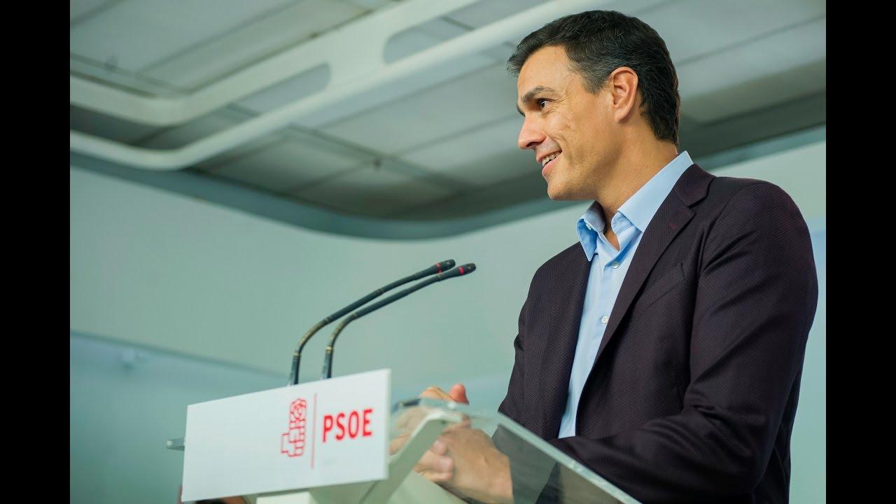 Pedro Sánchez: «La comisión gestora que surja contará con mi apoyo»