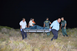 Hallan el cadáver de un hombre atado con cadenas y quemado en un búnker de El Toro