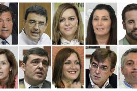 Parar la sangría interna y reorientar la táctica, los retos de la gestora del PSOE