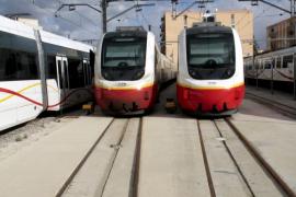 La huelga de Serveis Ferroviaris de este lunes obliga a suspender 56 trayectos de tren y metro en Mallorca