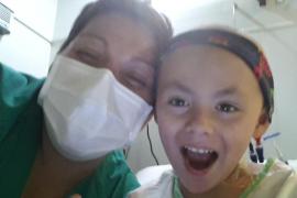 Jaime ya ha recibido el trasplante de médula