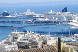 El Port de Palma bate en nueve meses el récord de movimiento de turistas de cruceros de todo 2009
