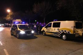 Detenido por golpear con una botella a un hombre que orinó delante de su hija en Palma