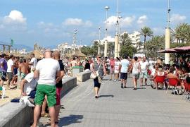 Mallorca afronta el mejor octubre turístico de los últimos quince años