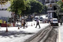 Reasfaltado de un tramo de la avenida Ignasi Wallis