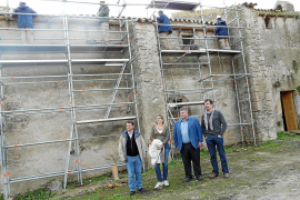Patrimoni lleva a cabo una intervención de urgencia en el Monestir de Bellpuig