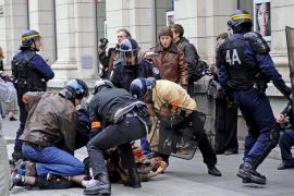 Nueve vuelos cancelados en Palma por la huelga francesa