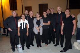 Entrega de premios en la II Gala de Corales de Balears