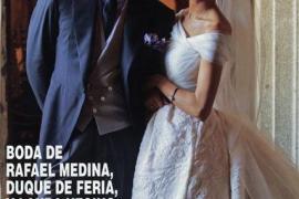 Así se casaron Rafael Medina y Laura Vecino