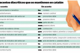 Los profesores de la UIB, favorables a la reducción de acentos en catalán