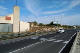 Derriban una valla publicitaria en Montuïri