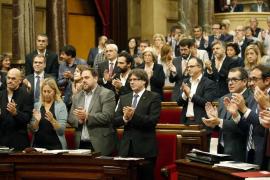 El Parlament catalán da vía libre al referéndum soberanista para septiembre de 2017
