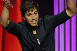 Enrique Iglesias arrasa en los Latin American Music Awards
