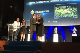 El Palma Futsal, protagonista de la gala de premios de la LNFS