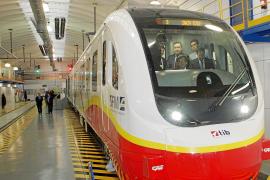 El primer tren eléctrico llegará a Mallorca en diciembre