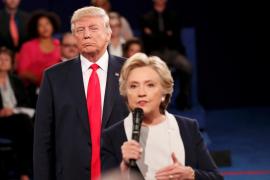 Trump dice que enviará a Clinton a la cárcel si gana la presidencia