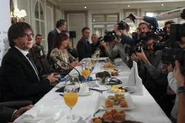 Puigdemont insta al Gobierno a negociar la fecha y la pregunta del referéndum