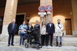 Los vecinos de la Seu piden que Cort deje de permitir estacionar a los taxis en la calle Mirador