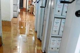 Los juzgados de Ibiza vuelven a sufrir inundaciones por las intensas lluvias