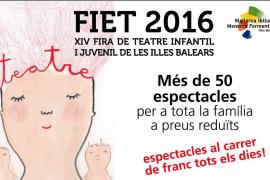 La XIV Fira de Teatre Infantil i Juvenil recala en Vilafranca de Bonany