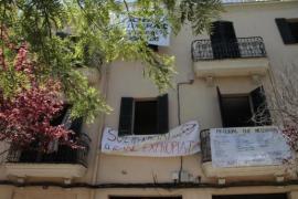 Desalojan el edificio 'okupado' de la plaza Fleming