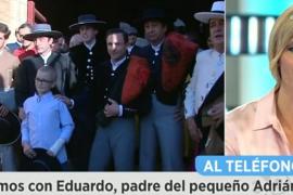El padre de Adrián pide respeto para que los aficionados puedan ir a los toros