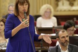Armengol destaca la «buena salud» de su Govern y espera que la cultura de pacto se «extrapole a España»