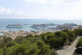 Siete cruceros, este martes, en Palma