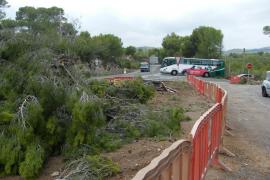 El Consell inicia las esperadas obras de la rotonda de El Bosque