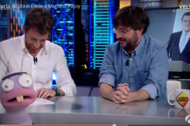 Pablo Motos anima a Rajoy a amenazar a Merkel con el cierre de Magaluf