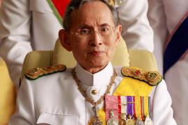 Muere el rey de Tailandia