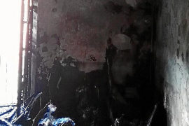 El juez envía a prisión al hombre de 64 años que incendió su piso en Sóller