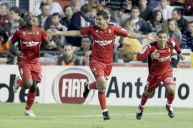 Castro y De Guzman impulsan al Mallorca en Mestalla