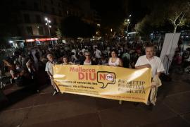 Palma acoge una concentración a favor de la erradicación de la pobreza