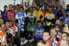 El ciclismo mallorquín rinde un sentido reconocimiento al desaparecido Tolo Calafat